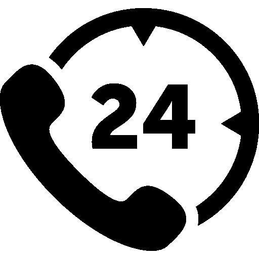 24*7 service icon